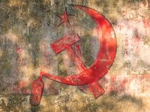 Communist party tag Stock Images