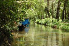 Alleppey - Venice of east Royalty Free Stock Images