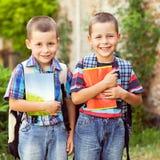 Aller à l'école Photographie stock libre de droits
