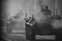 Aller à la guerre Images libres de droits