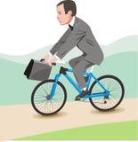 Aller à vélo image stock