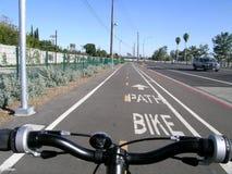 Aller à vélo Photo stock
