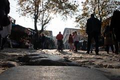 Aller au bazar de village de Cumalikizik photos libres de droits