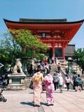 aller au temple Images libres de droits