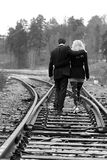 Aller de couples Image stock