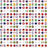 Aller Landesflaggeclipart Stockfotografie