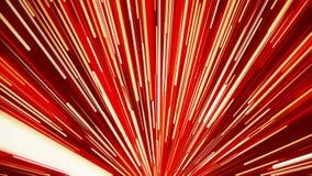 Aller rayons dans la couleur rouge illustration stock
