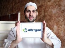 Allergan firmy farmaceutycznej logo Zdjęcie Stock
