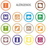 Allergens Royalty Free Stock Images