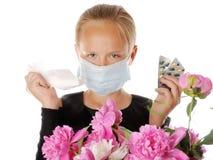 allergi Royaltyfri Fotografi