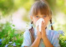 allergia Fotografia Stock Libera da Diritti