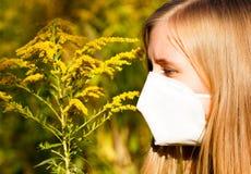 Allergia al polline Fotografia Stock Libera da Diritti
