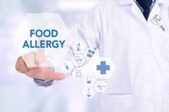 Allergia alimentare Immagine Stock Libera da Diritti