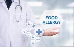 Allergia alimentare Immagini Stock Libere da Diritti