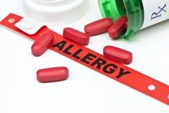 Allergia del farmaco Fotografie Stock