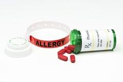Allergia del farmaco Fotografie Stock Libere da Diritti