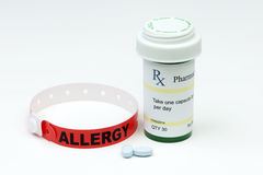Allergia del farmaco Immagine Stock Libera da Diritti