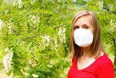 Allergia del polline Immagini Stock Libere da Diritti