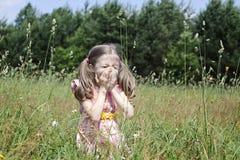 Allergia della primavera Fotografie Stock
