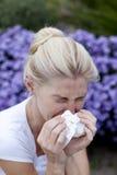Allergia di stagione Fotografia Stock Libera da Diritti