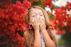 allergia Sorgente Fotografie Stock