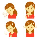Allergic reactions Stock Photography
