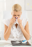 Allergic To Work Stock Photo