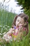 Allergico a polline Immagini Stock