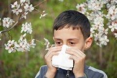 Allergieën Stock Foto's