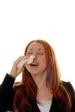 Allergieën Royalty-vrije Stock Fotografie