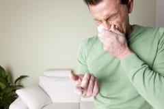 Allergie de la poussière Photo stock