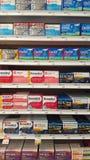 allergie Medicine nella farmacia Fotografia Stock Libera da Diritti