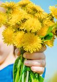 Allergie saisonni?re dans un enfant Coryza Foyer s?lectif photo stock
