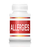 Allergies concept. Stock Image