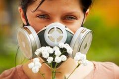 Allergieschutz stockbild