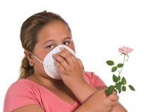 Allergisch Stock Afbeelding