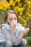 Allergisch Rhinitis Stock Afbeeldingen