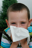 Allergy And Conjunctivitis Or Flu Stock Image