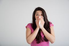 Allergy, Cold, Flu Royalty Free Stock Photo
