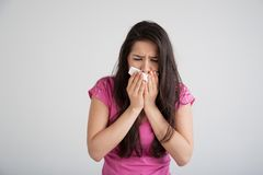 Allergy, Cold, Flu Stock Photos