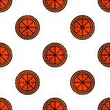 Allergy flat pattern. Disease state, watering, the appearance of red spots and other. Vector illustration EPS 10 Royalty Free Stock Photography