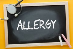 Allergy Medical Concept royalty free stock photography