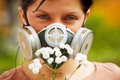 Allergy protection Stock Image