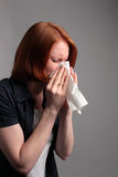 Allergy or Running Nose Royalty Free Stock Images