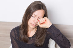 Allergy sufferer Stock Photo