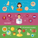 Allergy Symptoms Medical Treatment Horizontal Stock Image