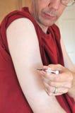 Allergy Syringe Self Injection Stock Photography