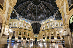 Alleria Vittorio Emanuele II в милане, Италии Стоковые Фото