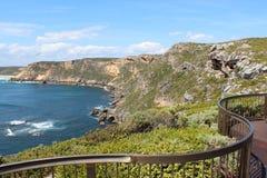 Allerta al porto ventoso Australia ad ovest Fotografia Stock Libera da Diritti