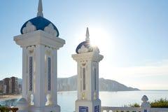 Allerta Alicante di Benidorm Mirador del Castillo Immagini Stock Libere da Diritti